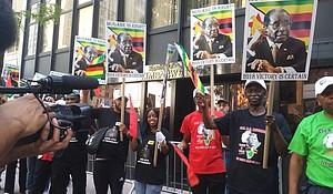 Rally for President Robert Mugabe
