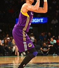 Candance Parker of the Los Angeles Sparks