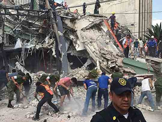 A Los Angeles County Urban Search and Rescue team was activated this week and is in Mexico City today