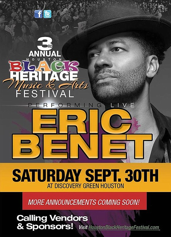 In less than eight days, Discovery Green will be flooded with music and art lovers for the 3rd Annual Houston ...