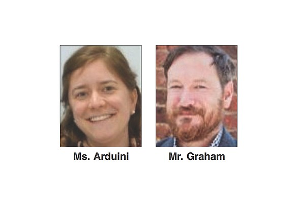 Stephanie Arduini and Chris Graham, director of education and special curator, respectively, of the American Civil War Museum, will speak ...