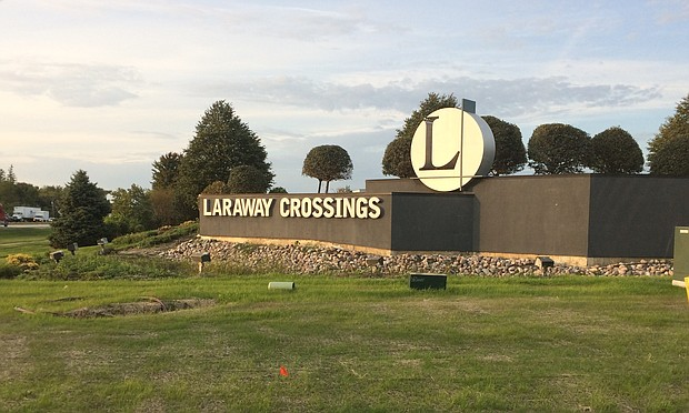 Laraway Crossings intermodal freight site in Joliet.
