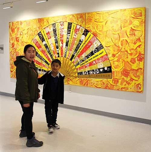 One year ago, artist Salvador Jimenez-Flores met with the fifth grade class of Boston's Josiah Quincy Elementary School to talk ...