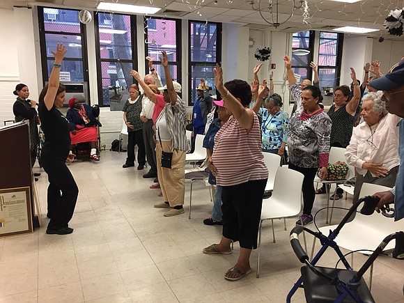 The Carter Burden Network, a nonprofit organization dedicated to promoting the well-being of New Yorkers aged 60 and over, hosted ...