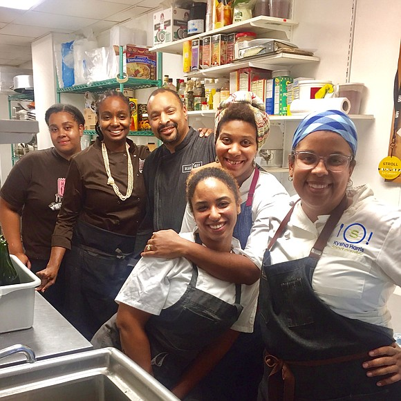 …and the feeling was certainly right! Monday night, I along with chef Tiffany Minter and chef Aaliyah Baylor were the ...