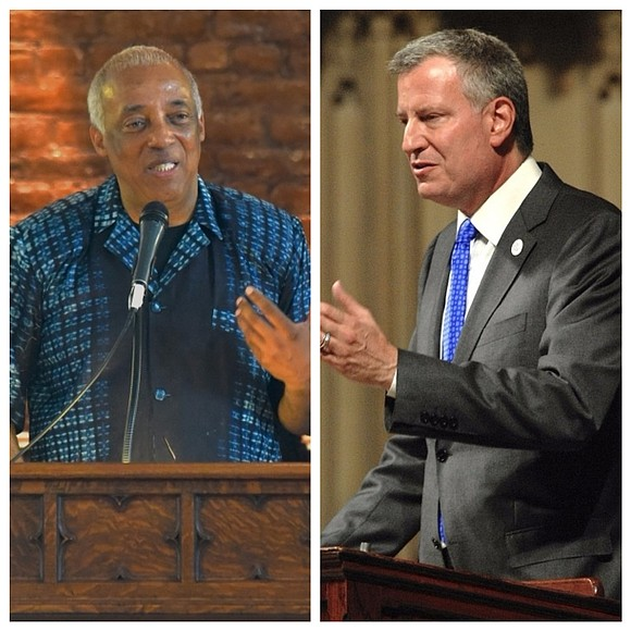It was disingenuous, self-serving and political opportunism for Mayor Bill de Blasio to request our local Council Member Inez Barron ...