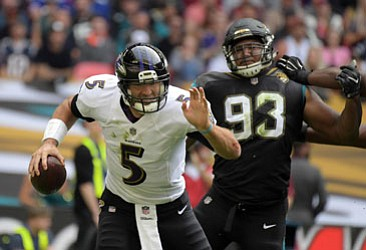 The Ravens traveled to London, England in week three with a 2-0 record, including two wins over their AFC East ...