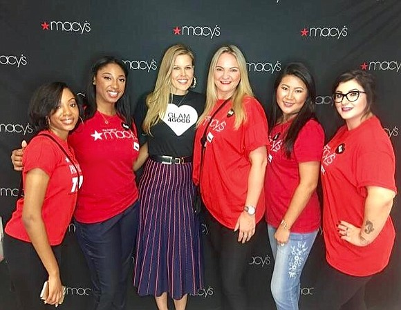 Macy's supported women devastated by Hurricane Harvey this past weekend at the Glam4Good event.