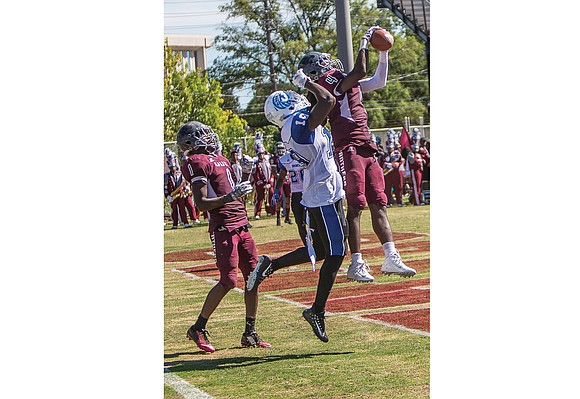 Until about a week before football season began, quarterback Darius Taylor wasn't even listed on Virginia Union University's 2017 roster.