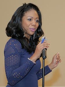 KYW News Radio Reporter and now host of Flashpoint, Cherri Gregg was the Mistress of Ceremonies for this year's 25 Most Influential African Americans in New Jersey and People Making A Difference Awards Ceremony.