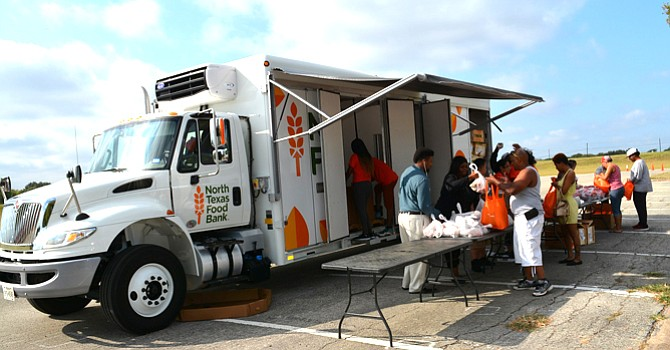 DCCCD food bank launch mobile food pantry The Dallas Examiner