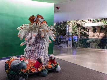 "The Shedd Aquarium recently unveiled a new exhibit entitled ""Washed Ashore: Art to Save the Sea,"" which illustrates how plastic pollution has become one of the gravest threats facing ocean and freshwater animals.