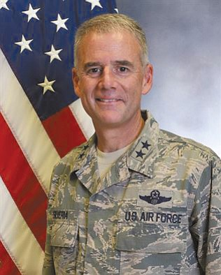 The head of the Air Force Academy gathered 5,500 cadets, faculty, staff...