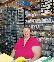 Kay Newell, owner of Sunlan Lighting at 3901 N. Mississippi Ave., has been a mainstay of the neighborhood since she first opened her iconic light bulb shop in 1989.