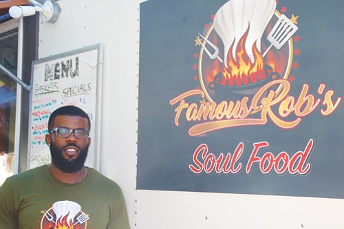 Chef and former American Ninja Warrior 2017 Competitor Robert McDonald Jr. specializes in making soul food.