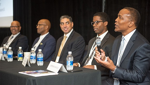 "The panel exploring""Growing Your Business: Organic Versus Inorganic Growth""featured Anthony Samuels of Done