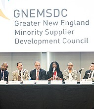 The panel on Best Practices and Success Stories featured (left to right): Kenn Turner of Massport; Larry Smith