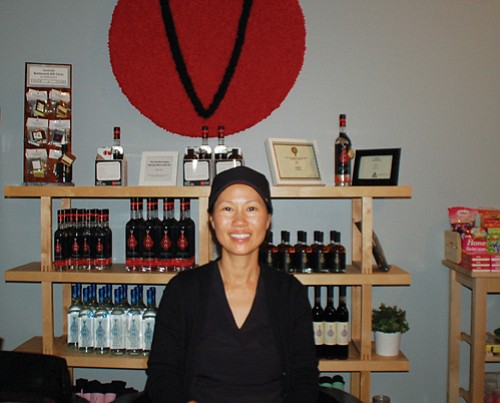Michelle Ly and her family-owned Vinn Distillery bring a unique and delicious product line to Portland's vibrant craft distilling scene. The Vinn Distillery Tasting Room is operated on weekends, located in the central industrial eastside at 222 S.E.  Eighth Ave.