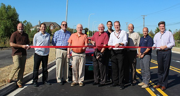 Plainfield Mayor Michael Collins oversaw a ribbon cutting ceremony that officially reopened the newly redone, and wider 127th Street in ...