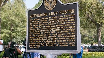 Autherine Lucy Foster Historical Marker