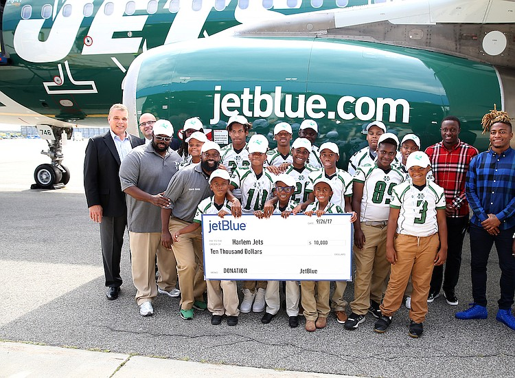 JetBlue donates $10,000 to the...