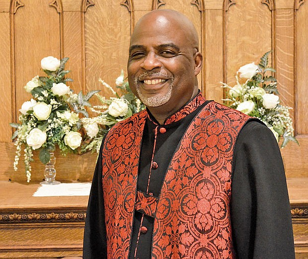 Rev. Rodrecus M. Johnson, Sr. is Pastor of Trinity A.M.E., which is located 2140 E. Hoffman Street in Baltimore.
