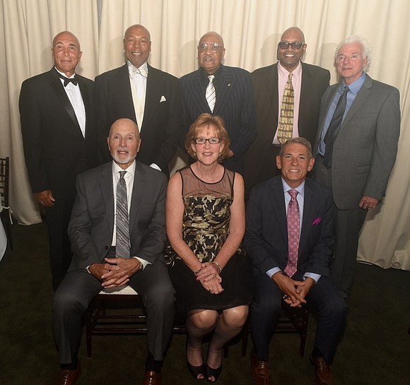 The New York City Basketball Hall of Fame held its 28th annual induction ceremony Tuesday night at the Bryant Park ...