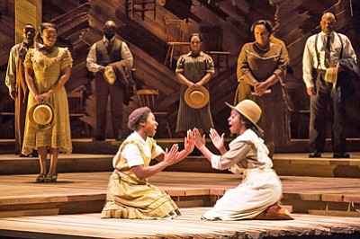 Based on Alice Walker's Pulitzer Prize-winning novel and the Warner Bros./Amblin Entertainment motion picture, The Color Purple is adapted for the stage by Tony Award and Pulitzer Prize-winner Marsha Norman.