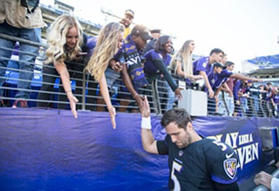 After starting the season with a 2-0 record, the Baltimore Ravens were looking forward to a winnng year.