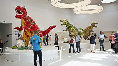 Get ready to embrace your inner child at Denmark's new LEGO House -- a 12,000-square meter house of fun, filled ...