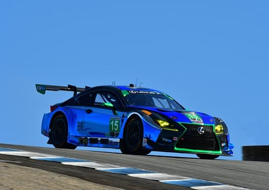 Lexus and 3GT Racing will close out their first season racing the Lexus RC F GT3 in the GTD class ...