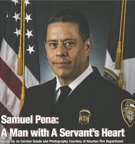 When others run away from the fire, Samuel Pena runs towards it. And he's been doing it for more than ...