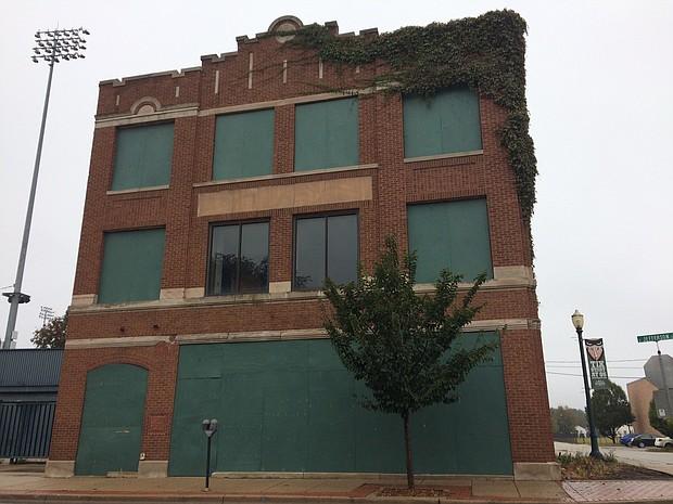 "The ""Stadium Club"" building, 141 W. Jefferson St. in Joliet."