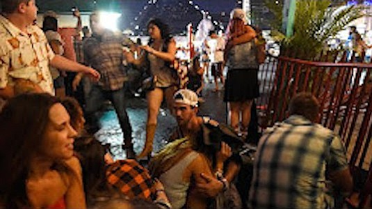 On October 1, 2017, a mass shooting occurred at the Route 91 Harvest outdoor music festival on the Las Vegas Strip. During the closing performance by Jason Aldean, a gunman opened fire on the crowd from the 32nd floor of the Mandalay Bay resort.