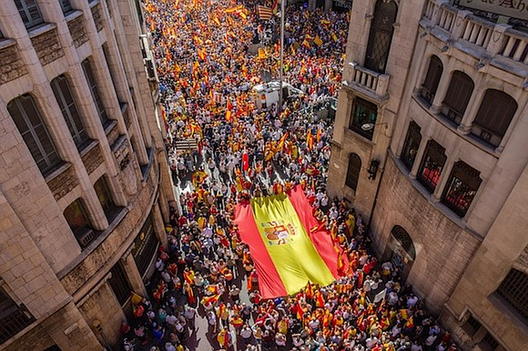 Spain faces a week of deep political uncertainty as the secessionist leader of Catalonia considered whether to make a unilateral ...