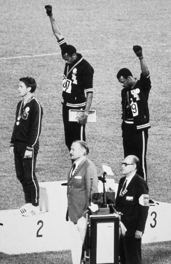 John Legend and Jesse Williams are working on a documentary that will look at the 1968 Black Power salute seen ...