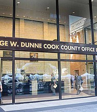 The lower-level of the George W. Dunne Cook County Office building, located at 69 W. Washington, is one of many sites where people can participate in early-voting, which was recently encouraged at the sixth