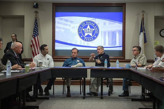 Governor Greg Abbott today continued his tour of Harvey affected cities, traveling to five impacted communities along the Texas coast. ...