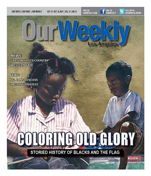 Our Weekly spoke with two African American U.S. flag makers about their thoughts on the active protest...