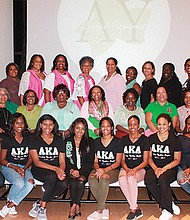 Lambda Upsilon Chapter of Alpha Kappa Alpha Sorority, Inc. celebrated its 40th anniversary as the first sorority chartered on the Massachusetts Institute of Technology campus. Chartered on October 8, 1977 by seventeen scholastic and campus leaders, Lambda Upsilon Chapter membership consists of undergraduate women at Harvard University, M.I.T., and Wellesley College committed to the sorority's ideals of scholarship, sisterhood and service to all mankind. The reunion weekend, with the theme Pink & Prestigious: 40 Years of Service, included acts of community service to benefit hurricane victims and U.S. Soldiers, and culminated with a festive luncheon held on Sunday, October 8th at Wellesley College. Cambridge Mayor E. Denise Simmons issued a proclamation designating Sunday, October 8, 2017 as Lambda Upsilon Chapter of Alpha Kappa Alpha Sorority, Inc. Day in the City of Cambridge.