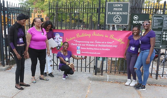 Saturday, Oct. 7, 2017, Sisters Building Sisters in Brooklyn walked through East New York, Brooklyn, for their Annual Walk to ...