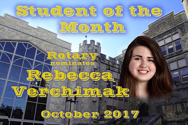 JTHS student of the month