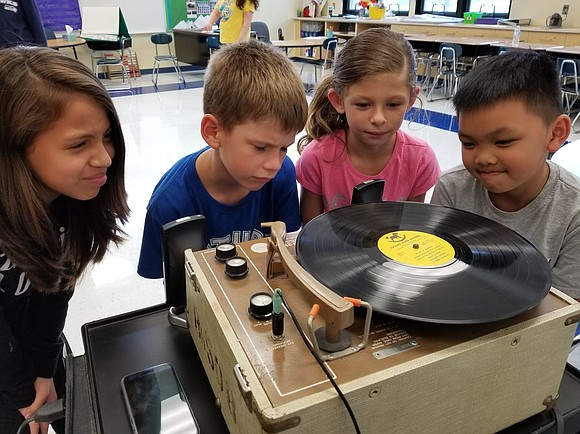 Tibbott Elementary School celebrated their 50th Anniversary this week. As part of the festivities, students learned about what school looked ...