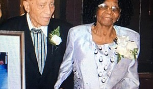 Waldiman Thompson, 91, and his 100-year-old wife, Ethlin Thompson, were tied up and robbed in a violent home invasion.