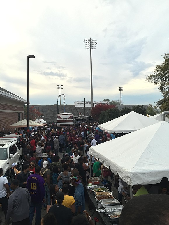 At historically Black colleges and universities, homecoming is more than a football game—it's like a family reunion during college football ...