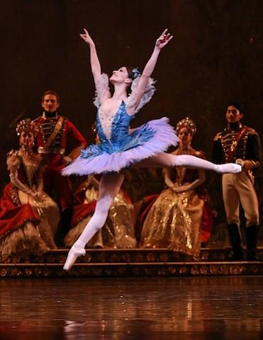 Karina Gonzalez as Princess Florine in Houston Ballet's 'The Sleeping Beauty'  Choreographer: Ben Stevenson Photo: Amitava Sarkar