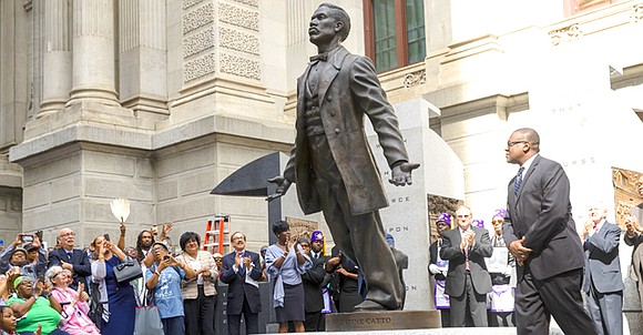 Nearly 150 years after he was killed on the streets of his adopted hometown, Octavius Valentine Catto was honored by ...