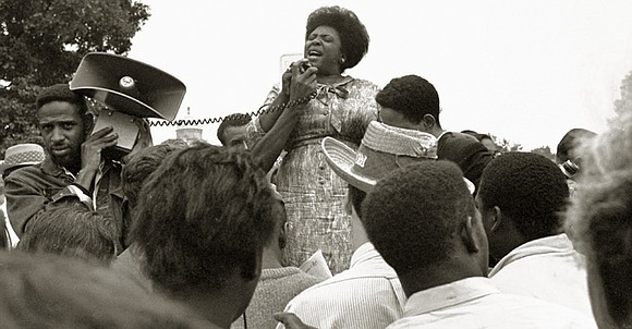 Mississippi-born civil rights activist Fannie Lou Hamer was commemorated Friday on what would have been her 100th birthday.