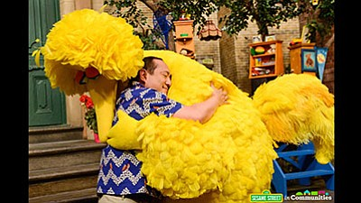 "Big Bird is upset. Angry, sad, confused, anxious. ""I've got all these feelings, you know ... and they're all mixed ..."