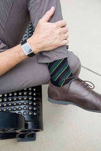 We all need solid, traditional staples in our wardrobes when the weather cools. But be they scarves, jackets or socks, ...